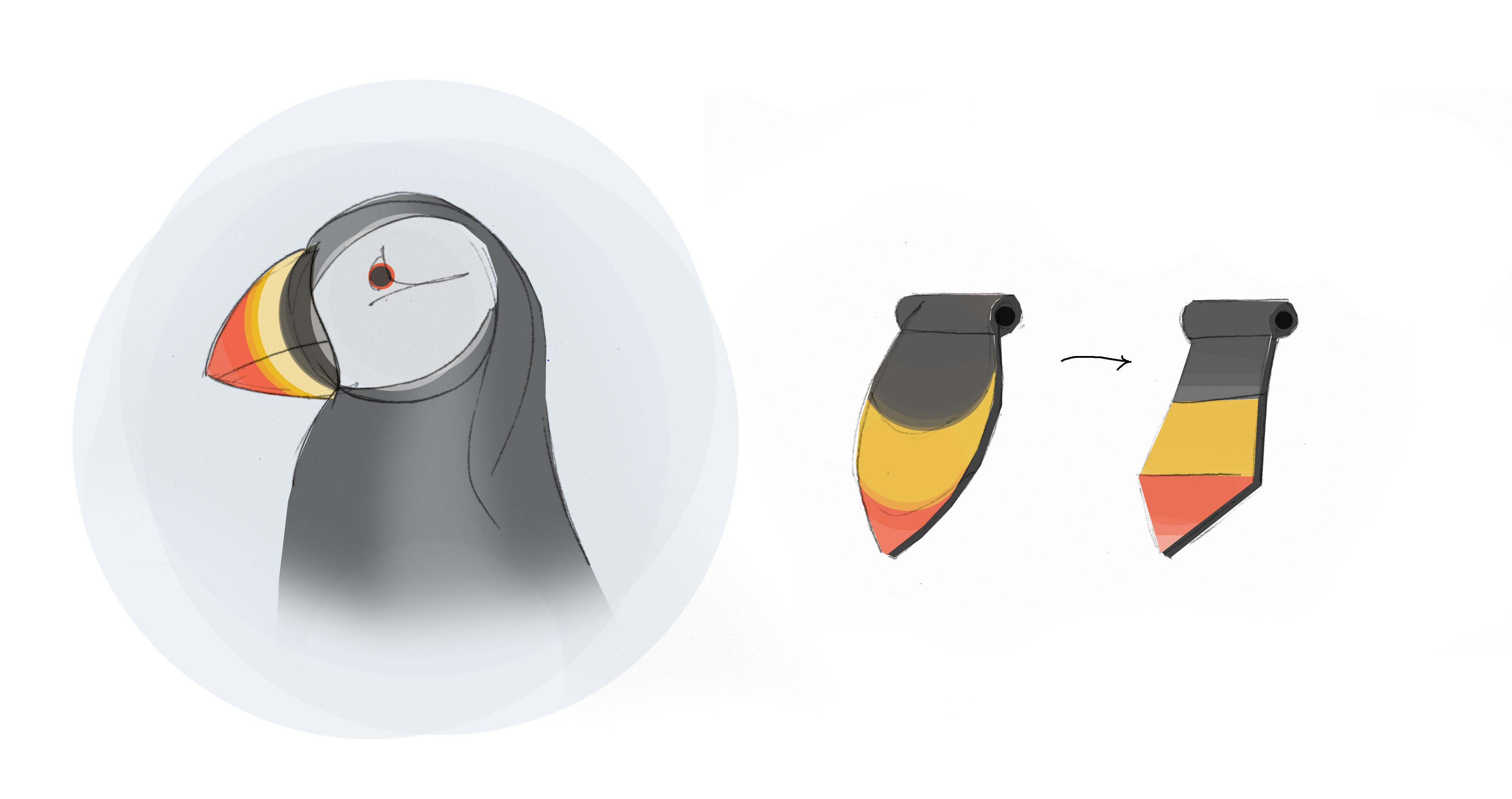 an Icelandic puffin provided the inspiration for the design of the new Icelandair amenity kits