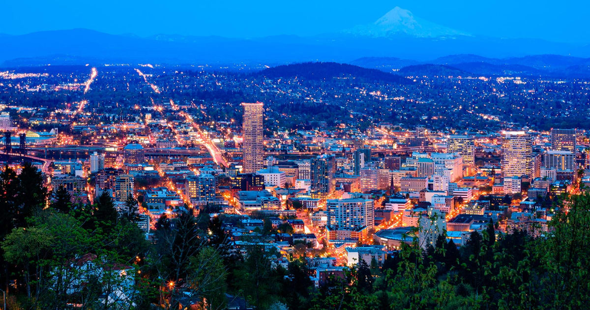 Branchement à Portland Oregon