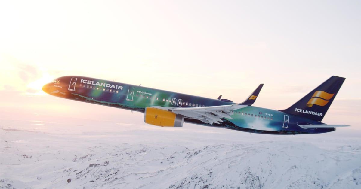 Fly Hekla Aurora | Icelandair