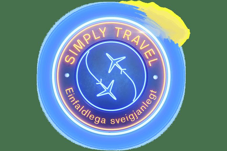 Simply-travel-skilti_stærra